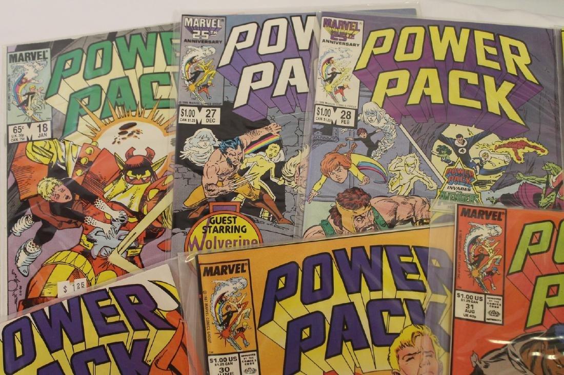 Power Pack volume 1 comic book lot - 9
