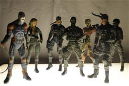 Video game toy/action figure lot