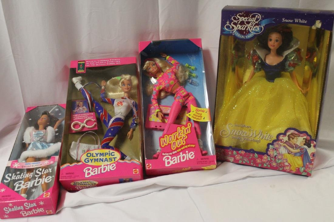 Lot of brand new-old-stock Barbie Dolls