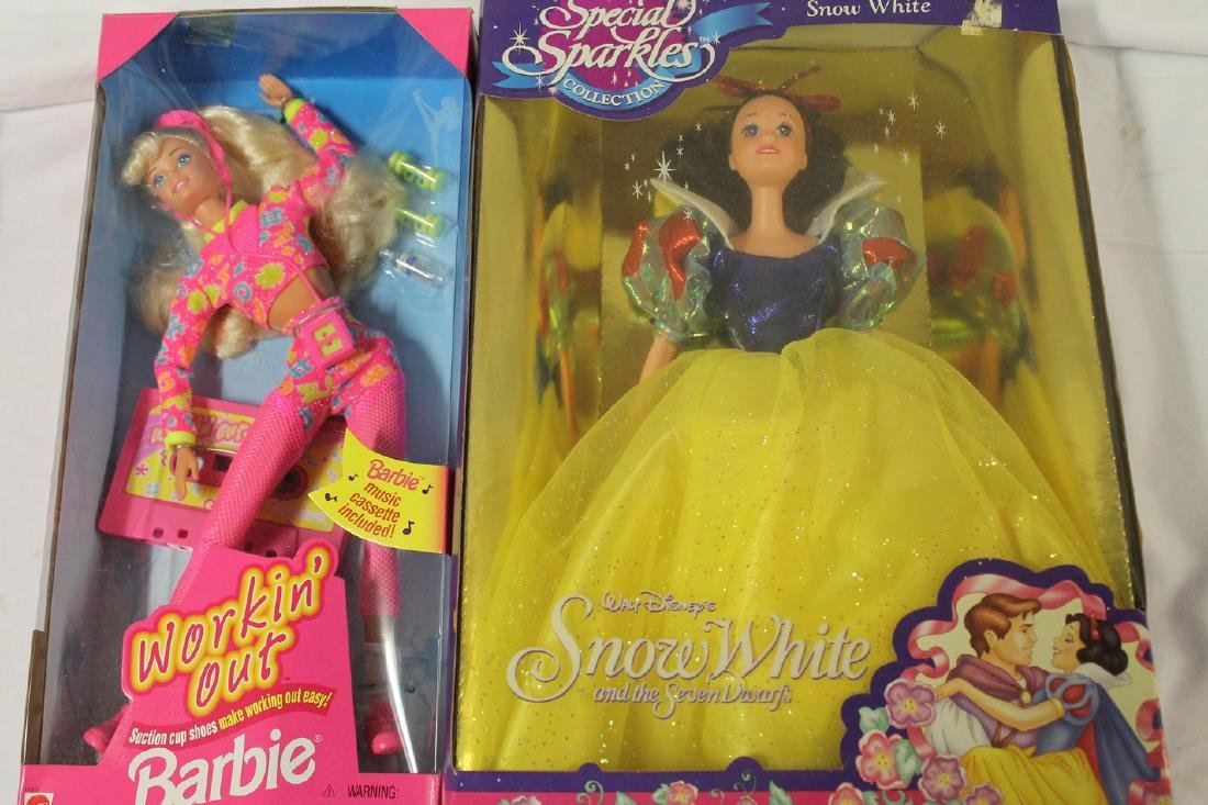 Lot of brand new-old-stock Barbie Dolls - 3