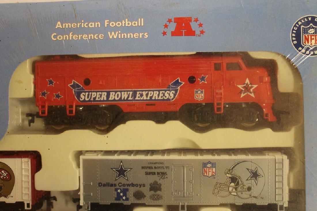 Superbowl Express train track - 5