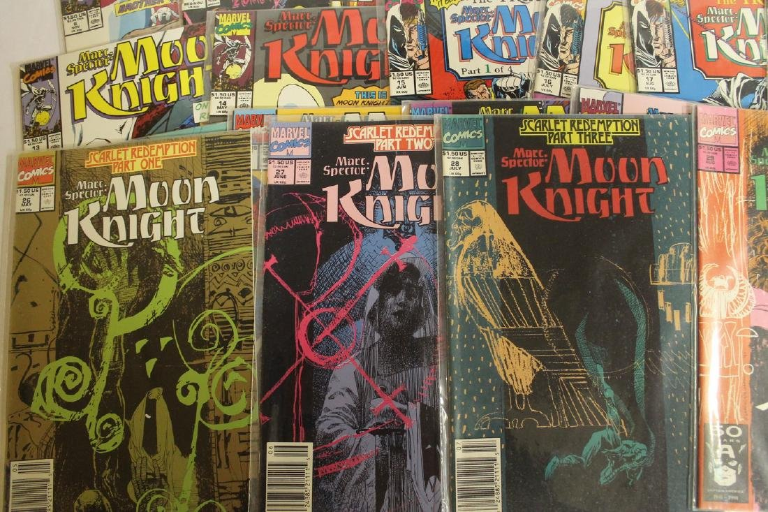 Marc Spector: Moon Knight lot - 2