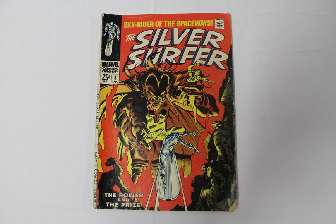 Silver Surfer volume one issue 3