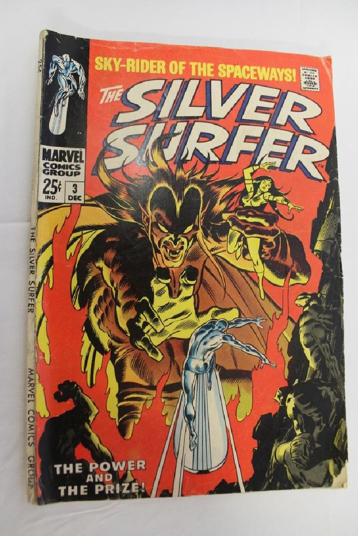 Silver Surfer volume one issue 3 - 2
