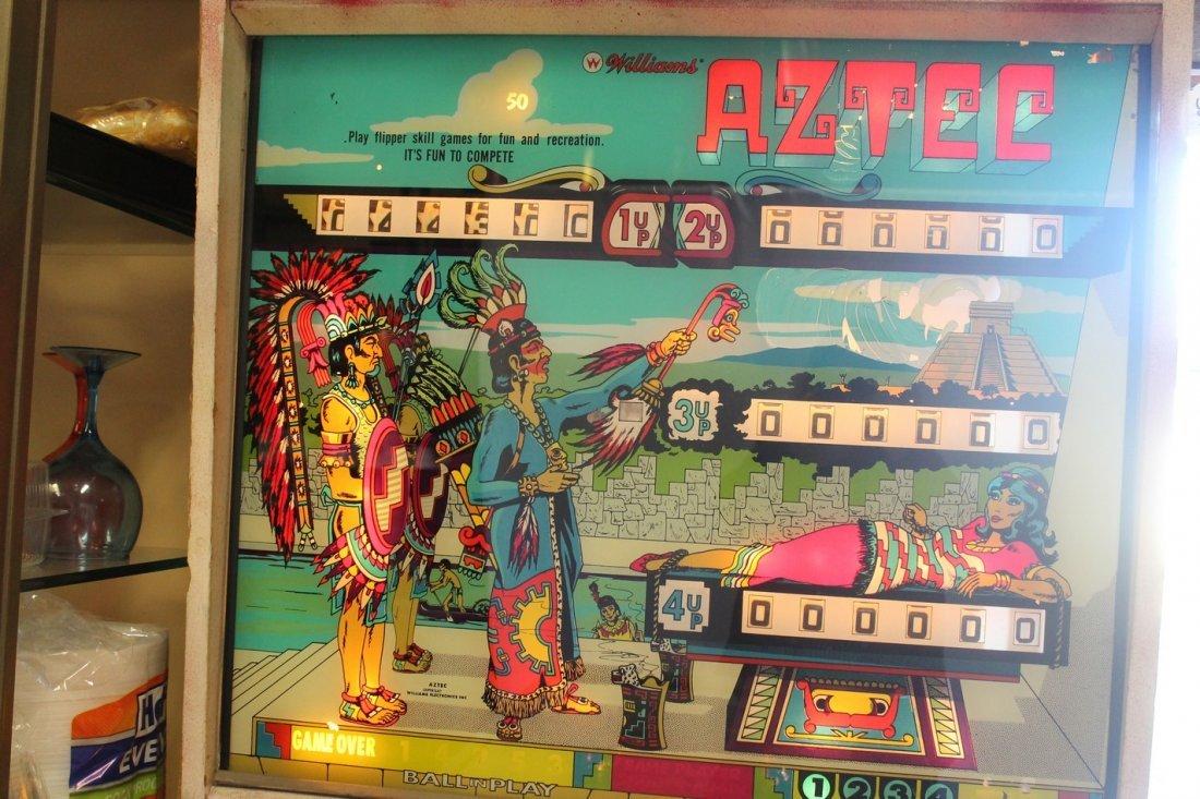 Vintage Aztec Pinball Machine - 2