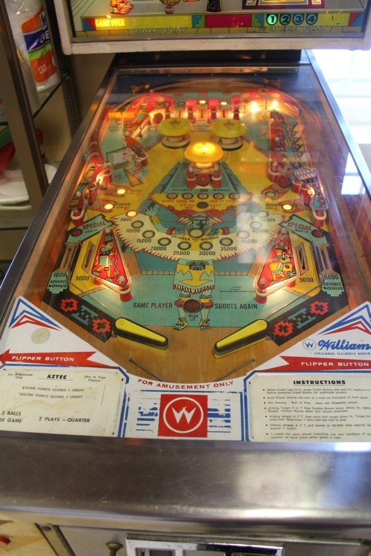 Vintage Aztec Pinball Machine - 3