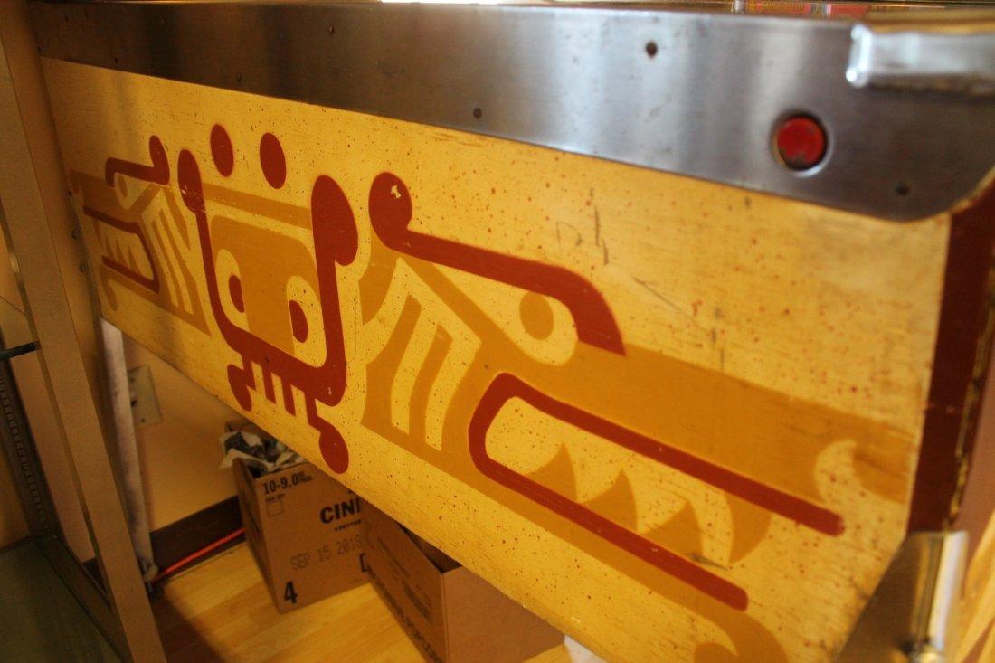 Vintage Aztec Pinball Machine - 6