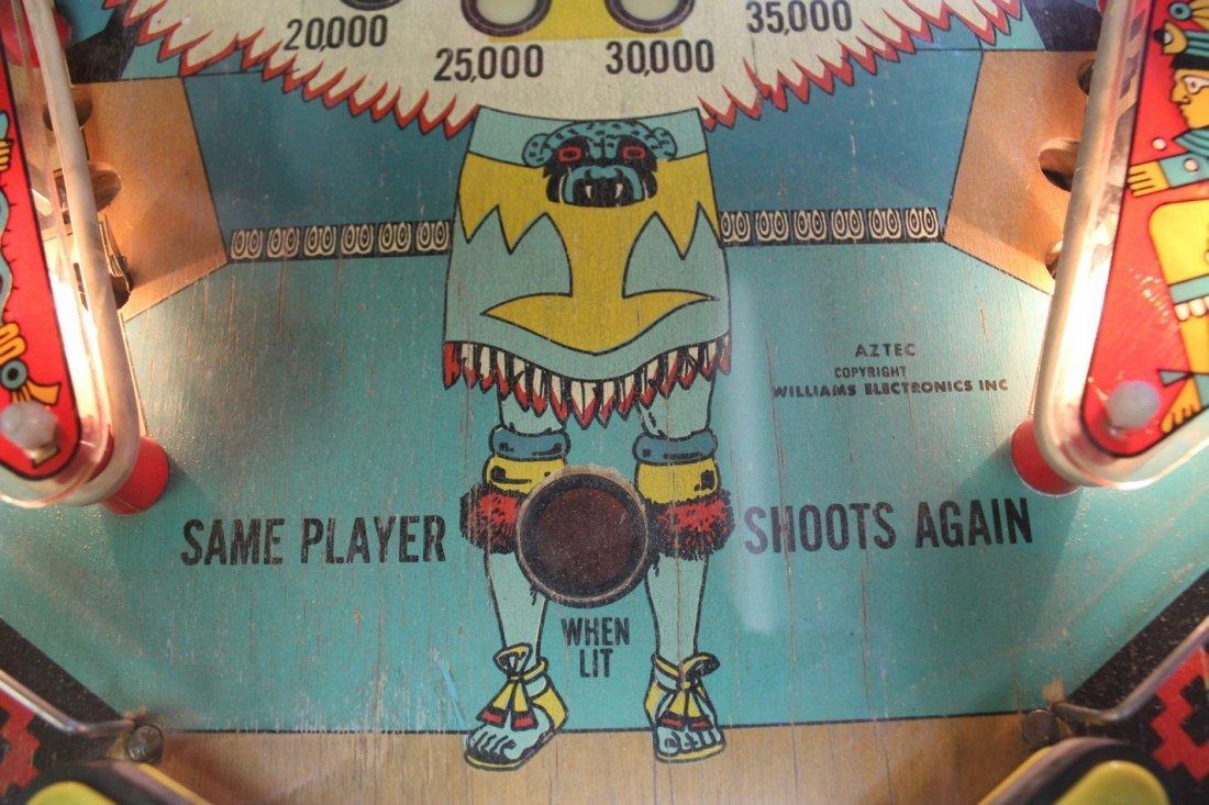 Vintage Aztec Pinball Machine - 7