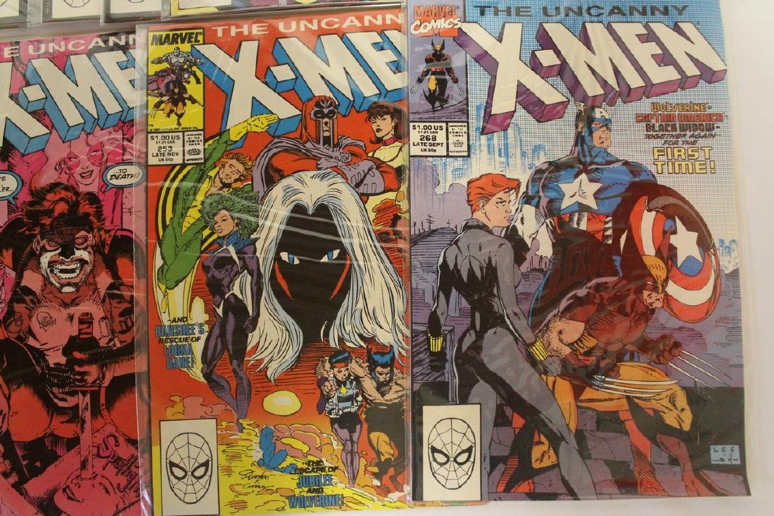 X-Men comic book lot - 6