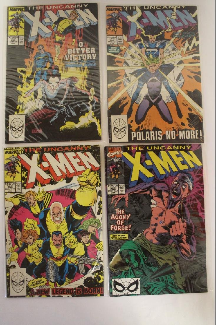 X-Men comic book lot - 7