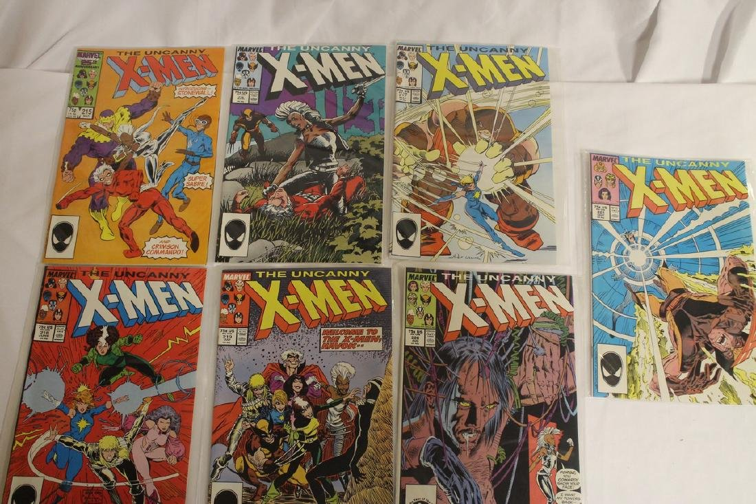 X-Men comic book lot