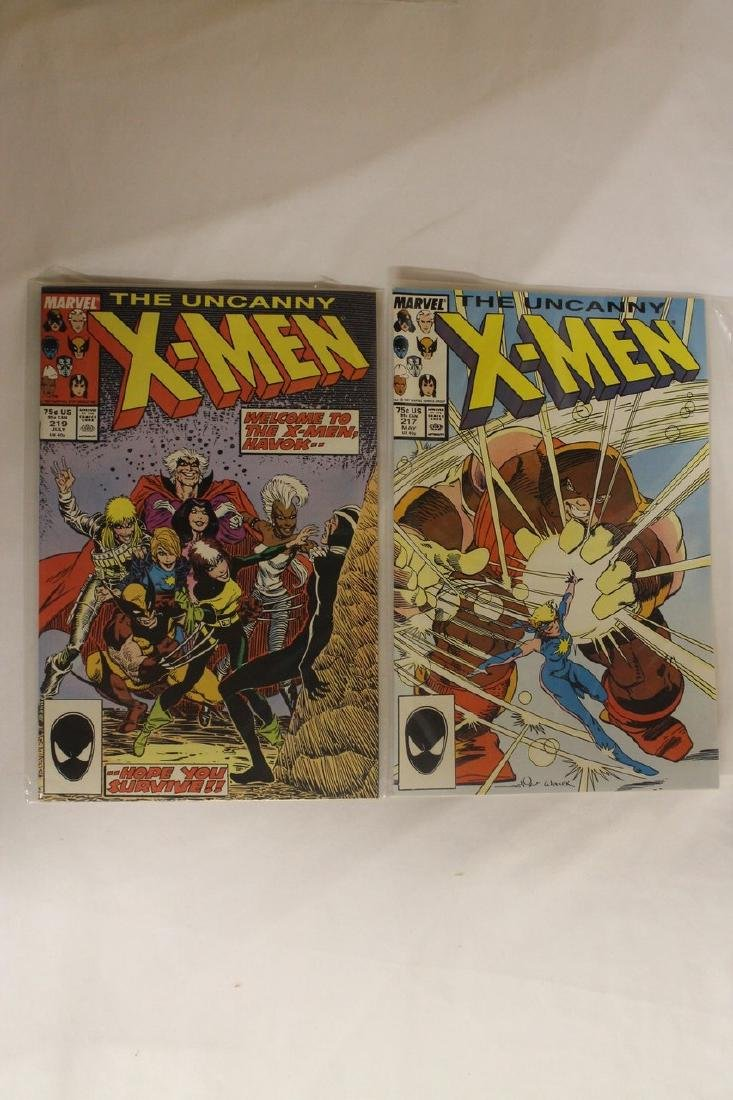 X-Men comic book lot - 4