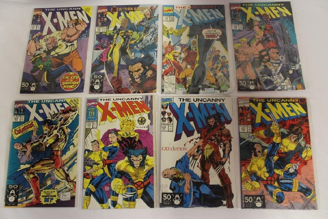 X-Men comic book lot