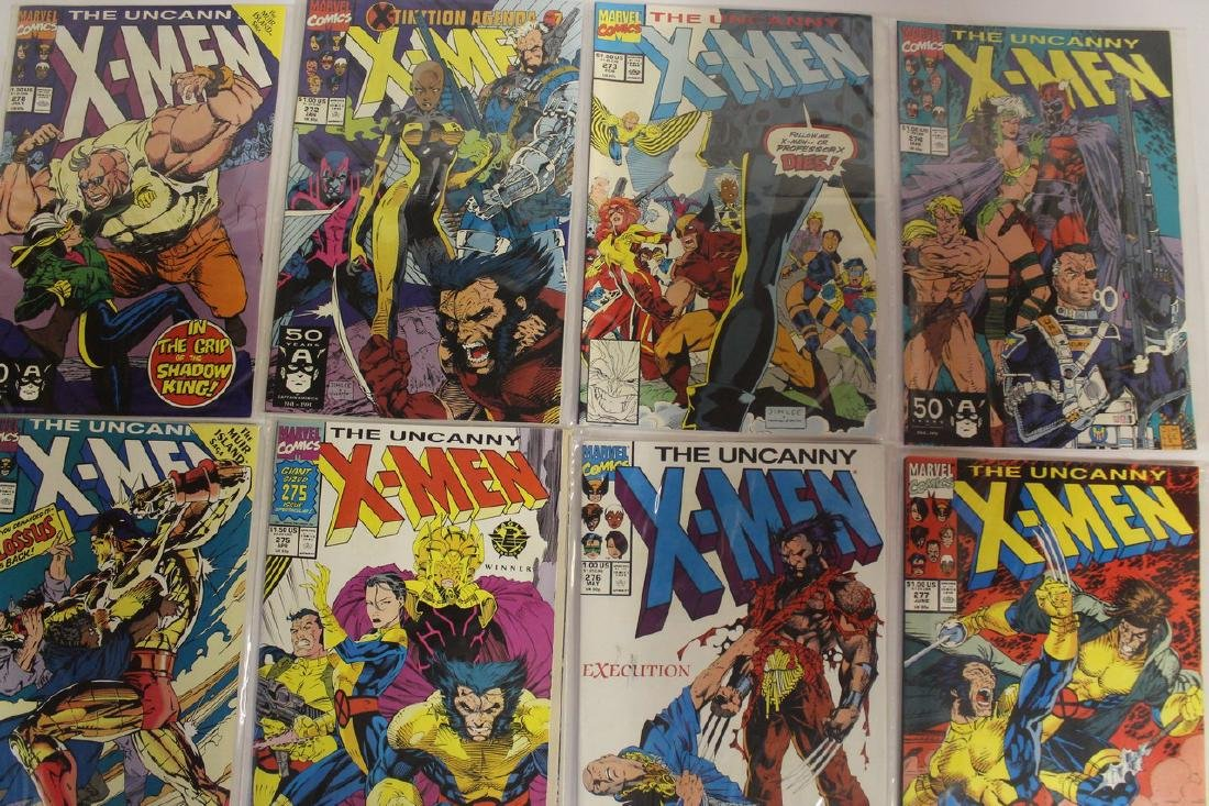 X-Men comic book lot - 3