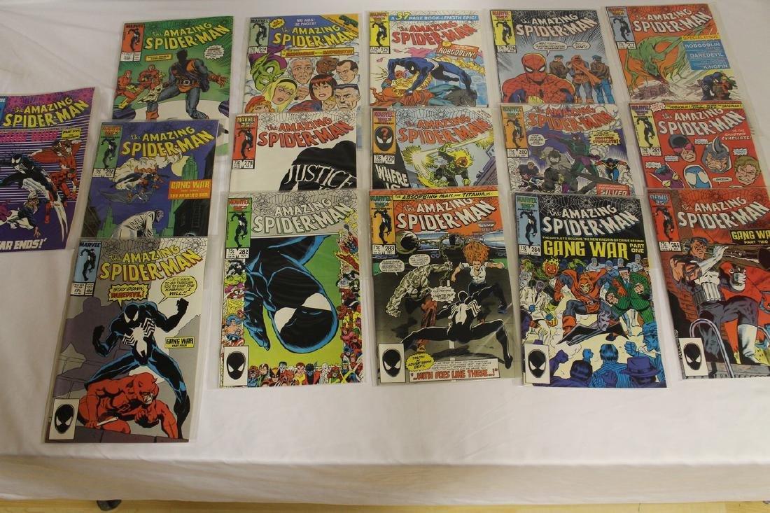 Spider-Man comic book lot