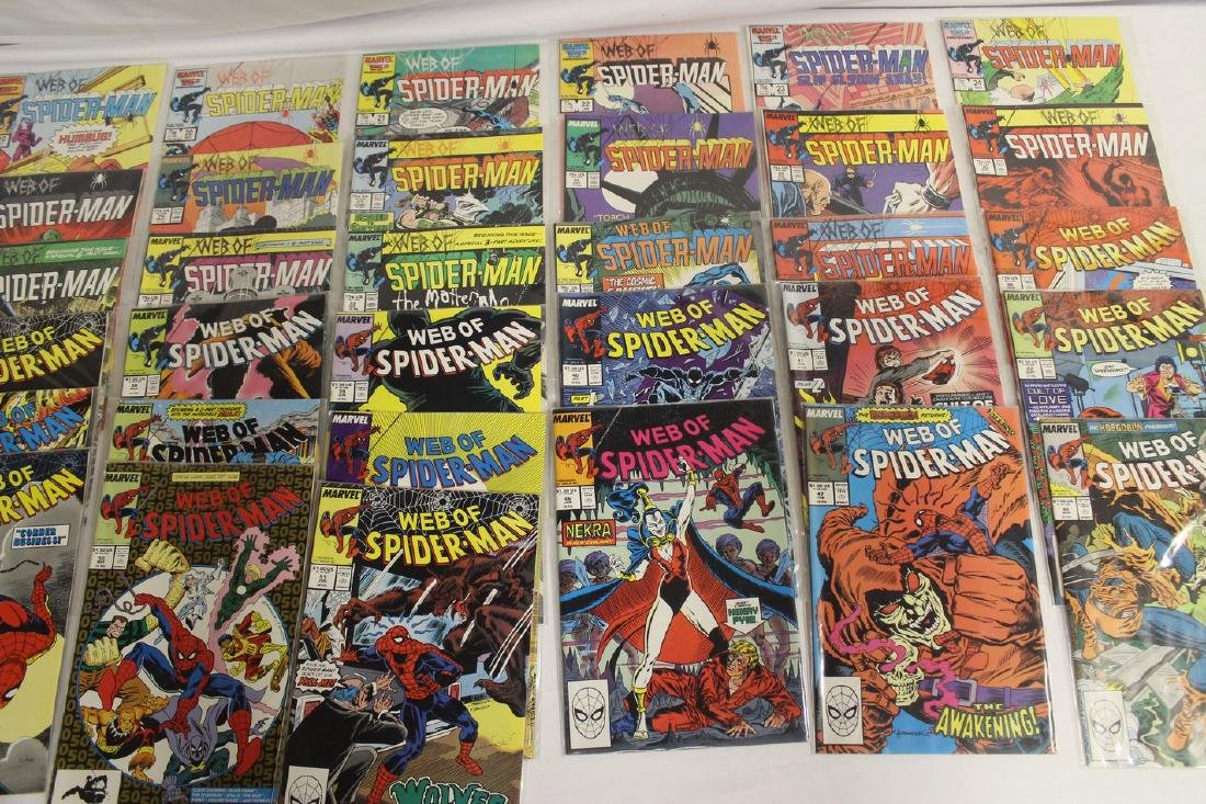 Spider-Man comic book lot