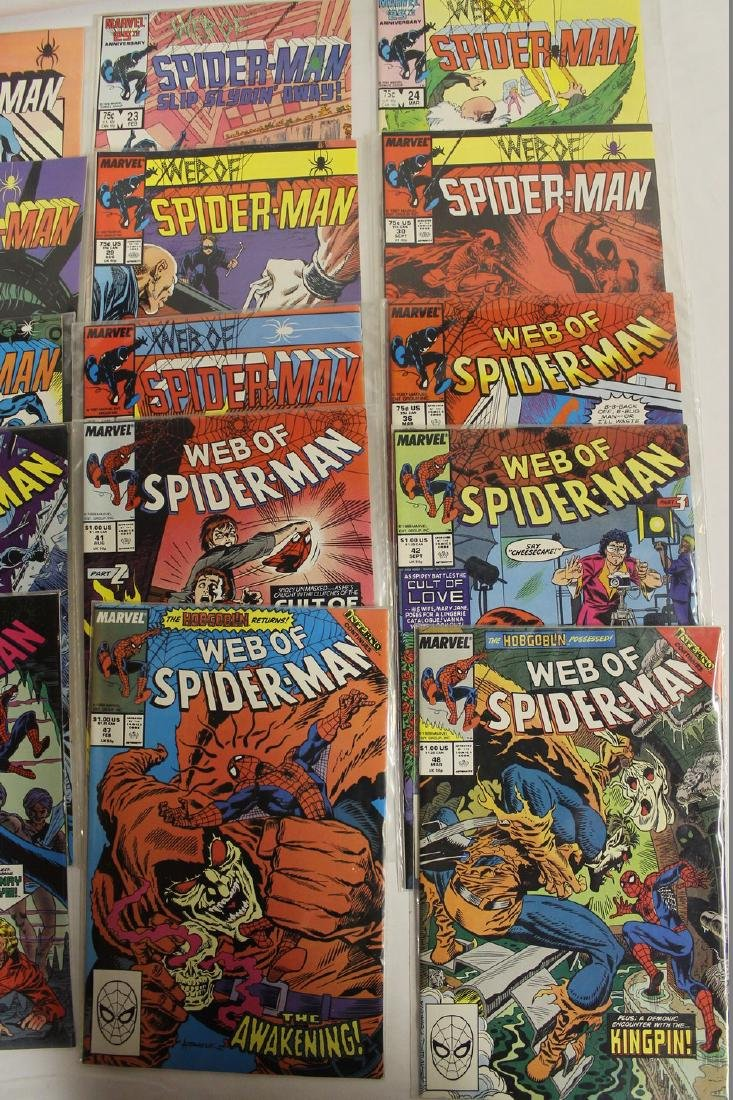 Spider-Man comic book lot - 4