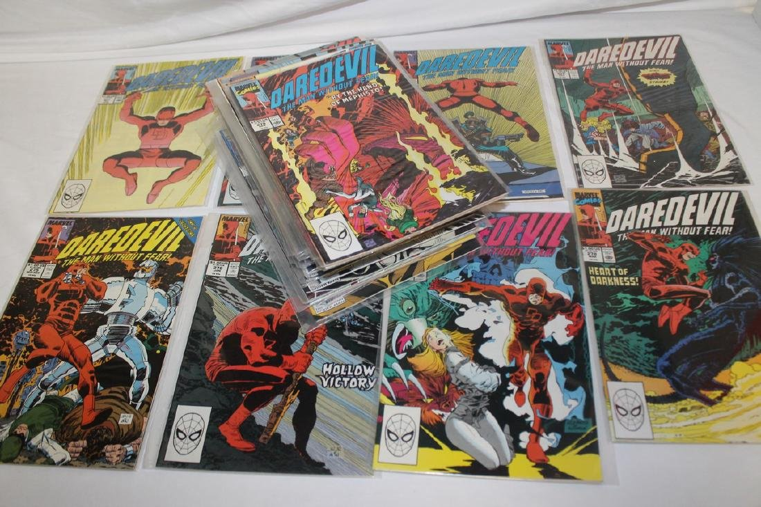 Daredevil comic book lot