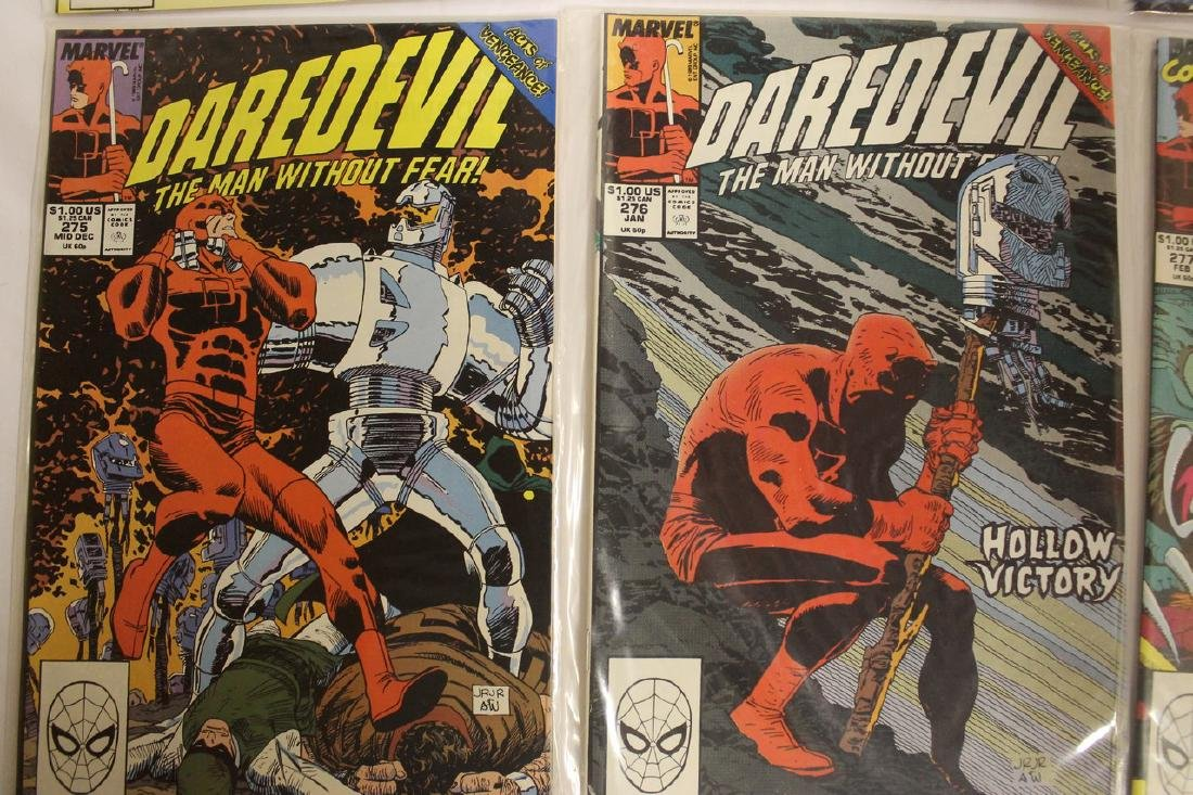 Daredevil comic book lot - 2