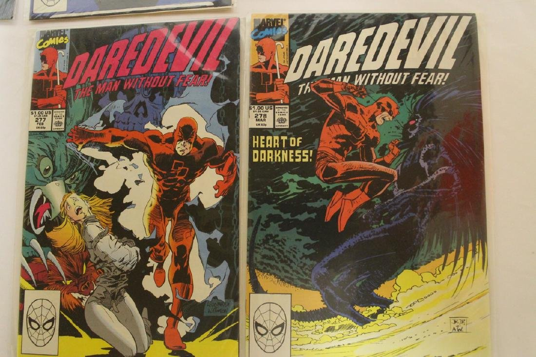 Daredevil comic book lot - 3
