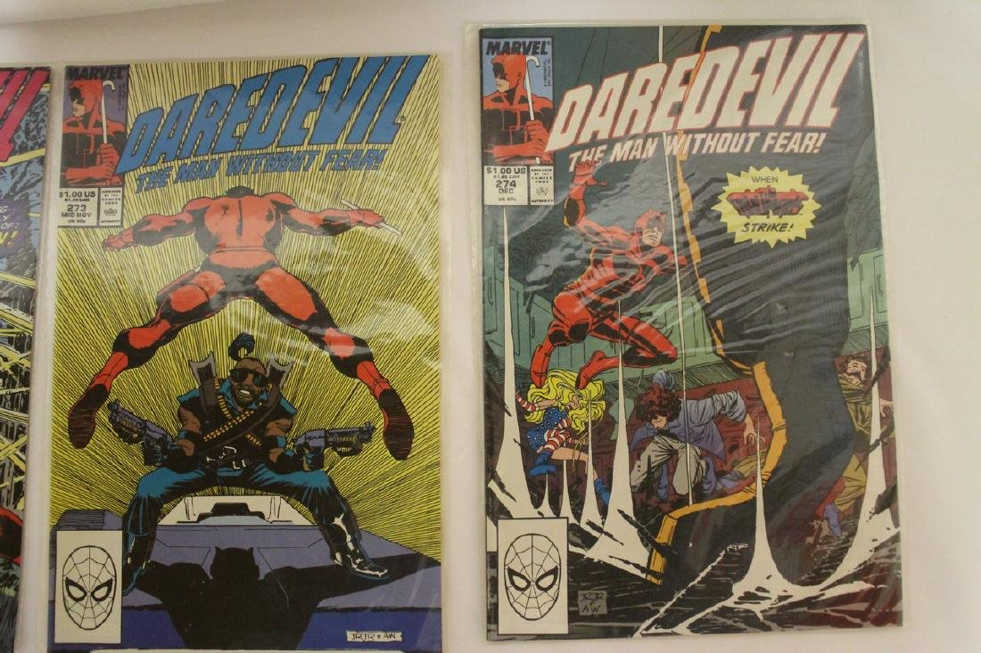 Daredevil comic book lot - 4