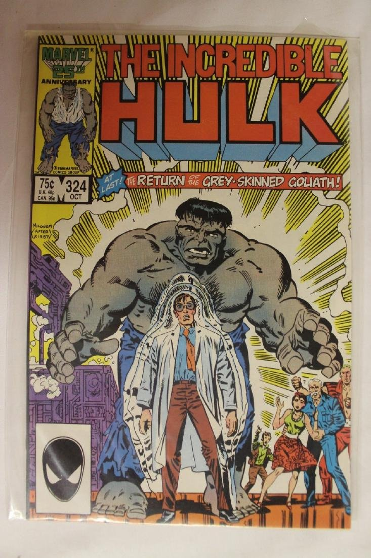 The Incredible Hulk comic book lot - 2