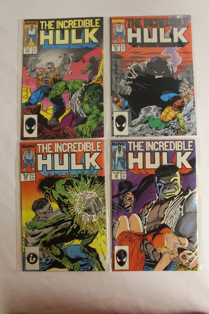 The Incredible Hulk comic book lot - 3