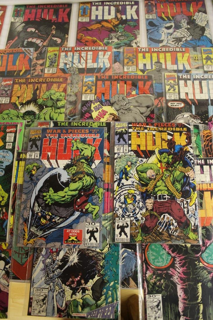 The Incredible Hulk comic book lot - 2