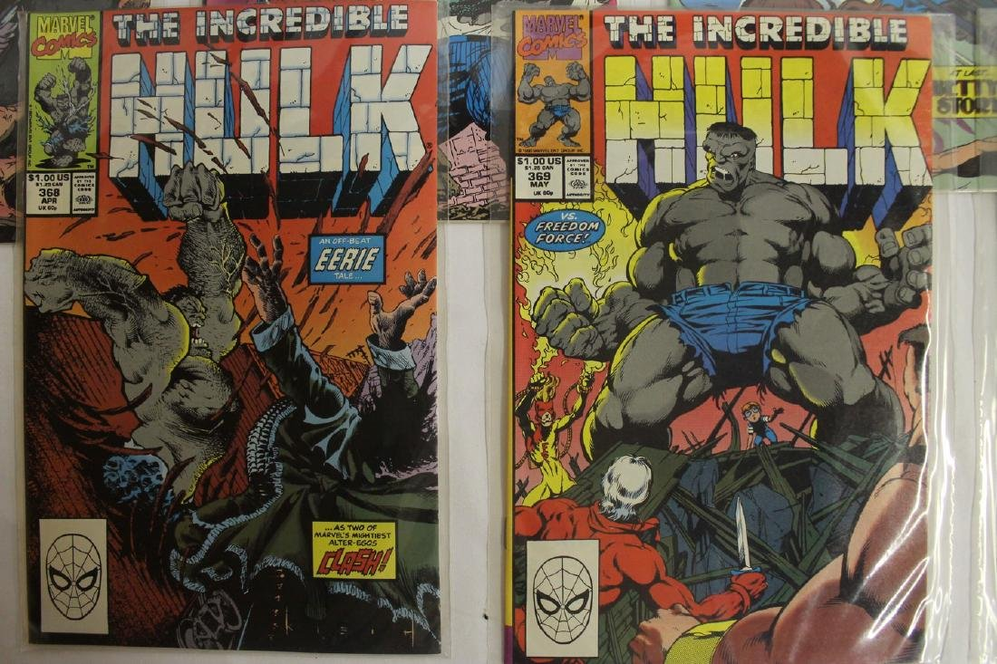 The Incredible Hulk comic book lot - 4
