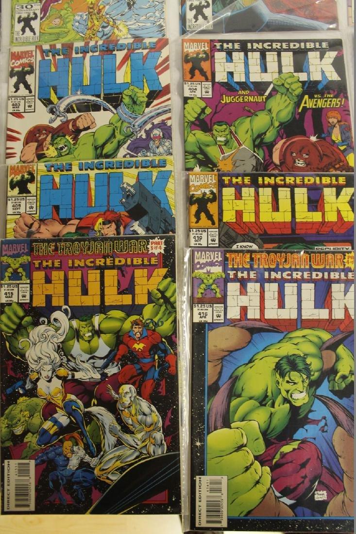 The Incredible Hulk comic book lot - 3