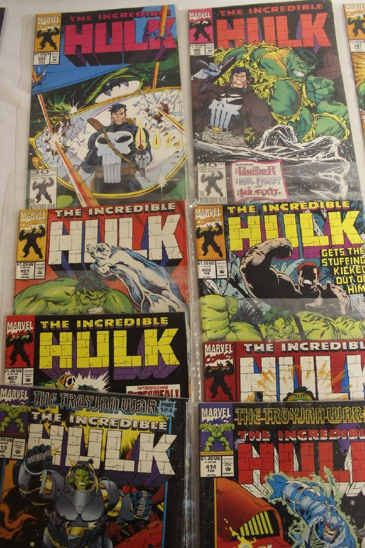 The Incredible Hulk comic book lot - 4