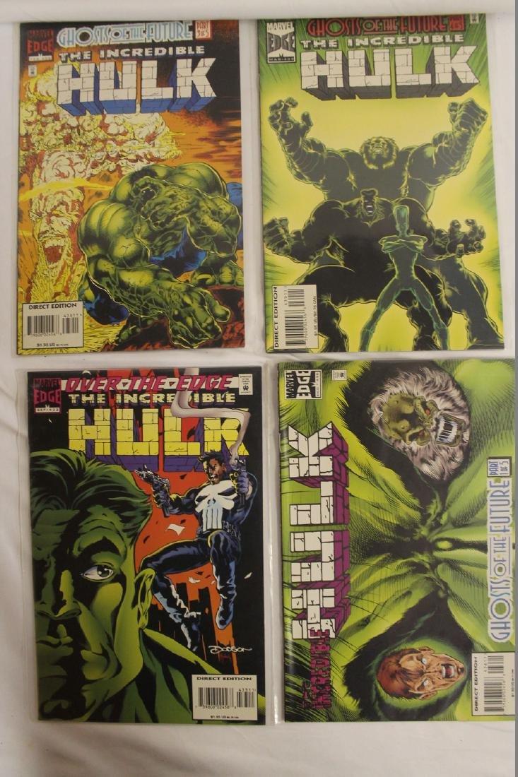 The Incredible Hulk comic book lot - 5