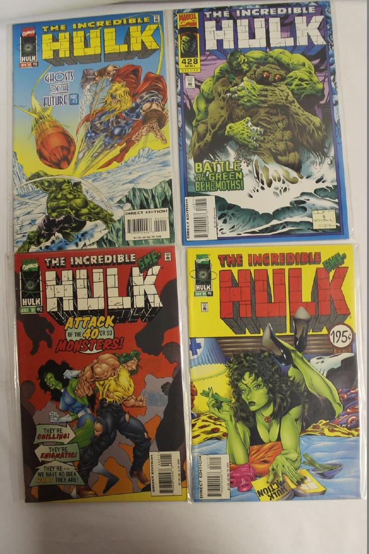 The Incredible Hulk comic book lot - 6