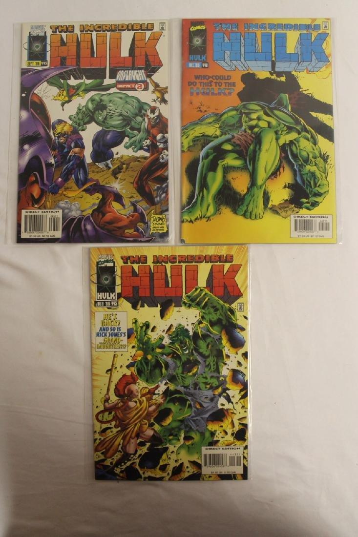 The Incredible Hulk comic book lot - 7