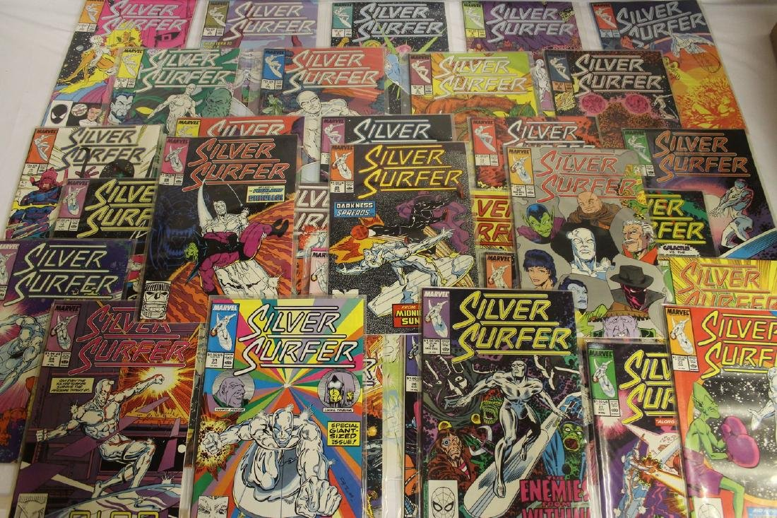 Silver Surfer comic book lot