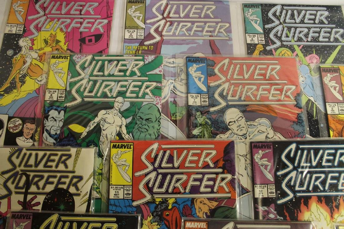 Silver Surfer comic book lot - 2