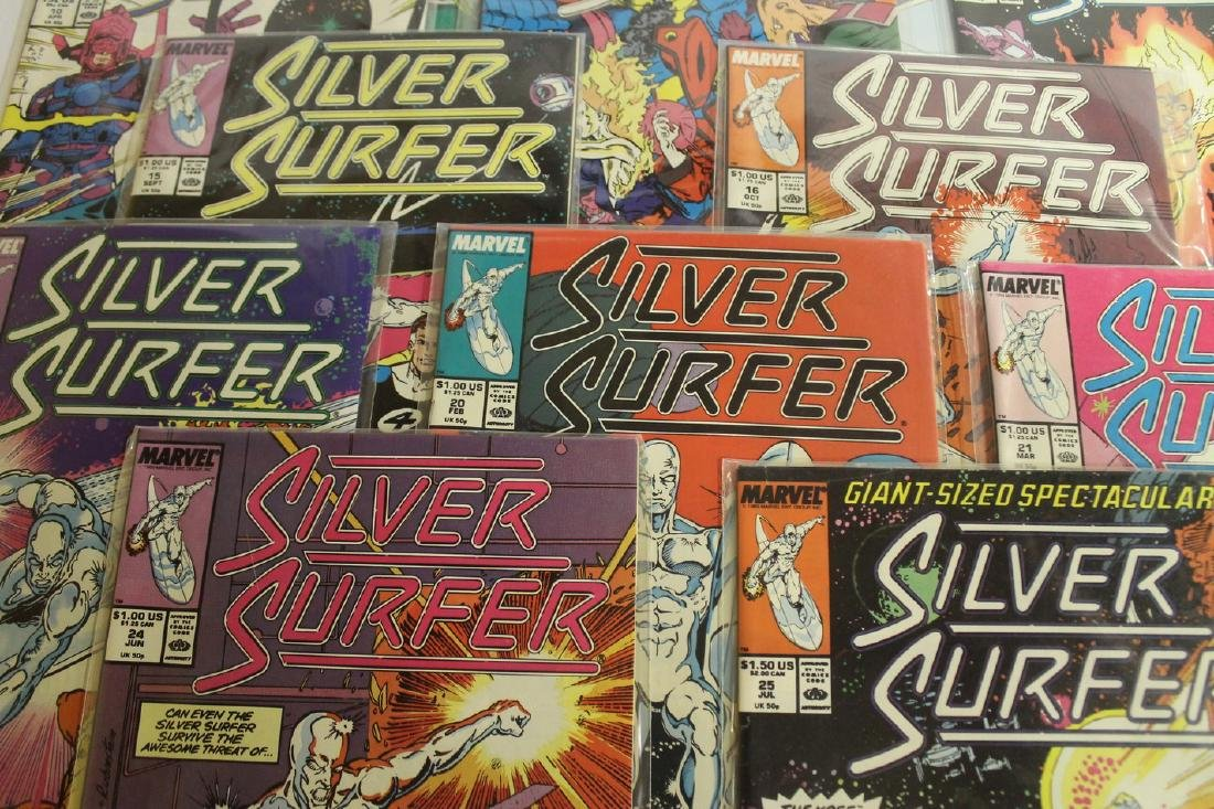 Silver Surfer comic book lot - 3