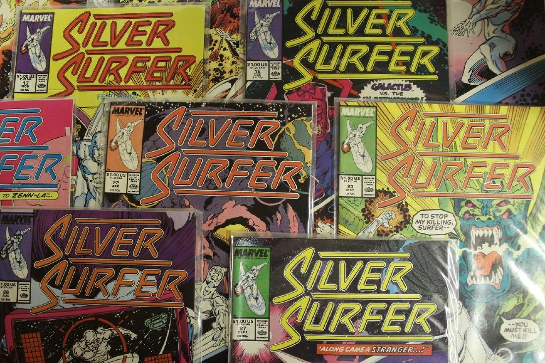 Silver Surfer comic book lot - 4