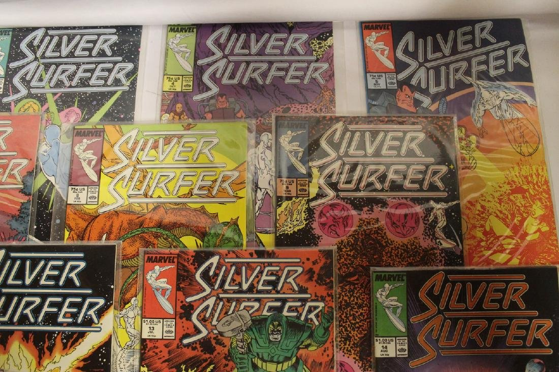 Silver Surfer comic book lot - 5
