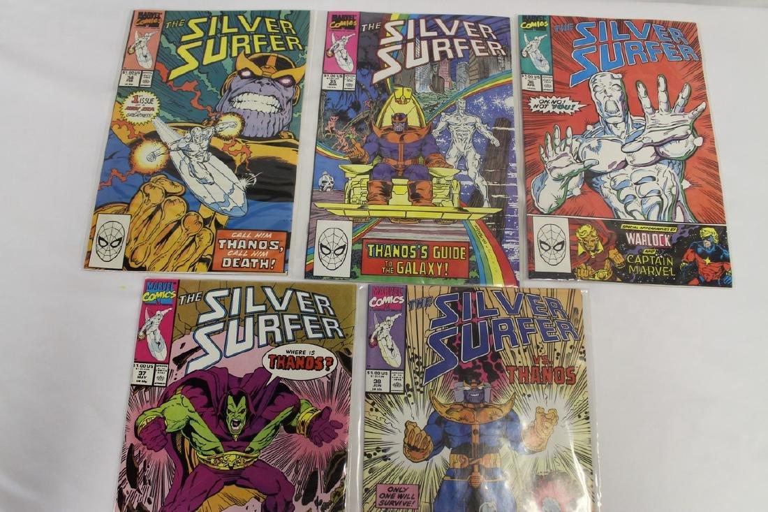 Silver Surfer comic book lot