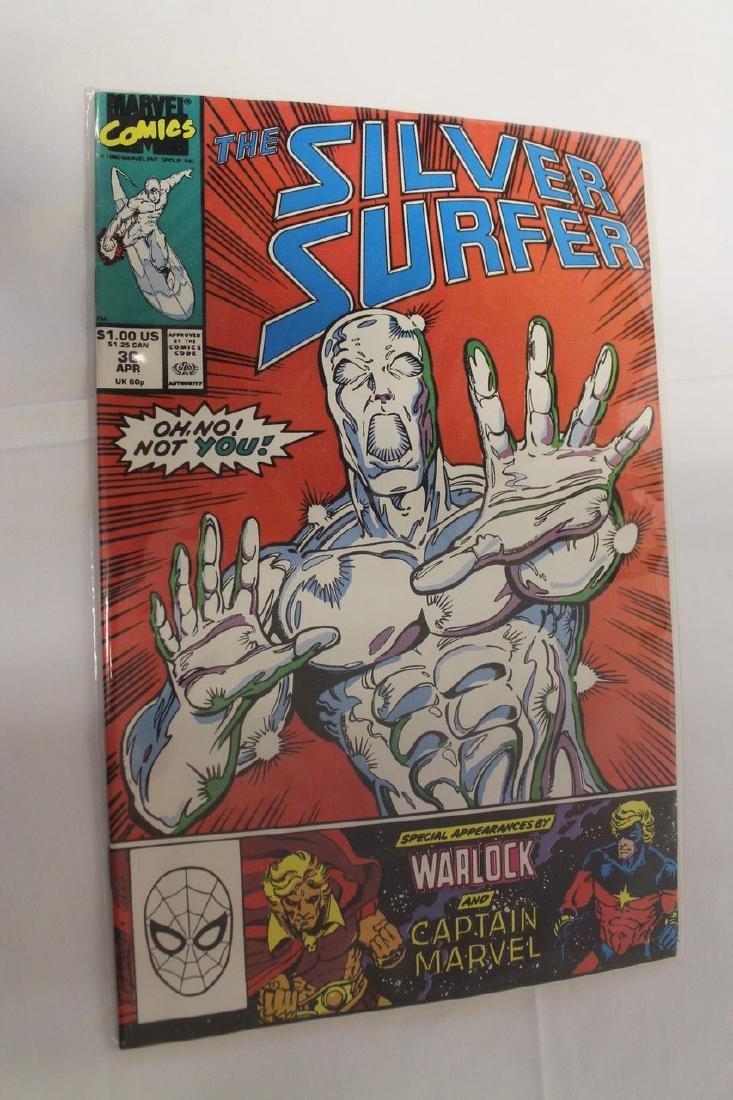 Silver Surfer comic book lot - 4