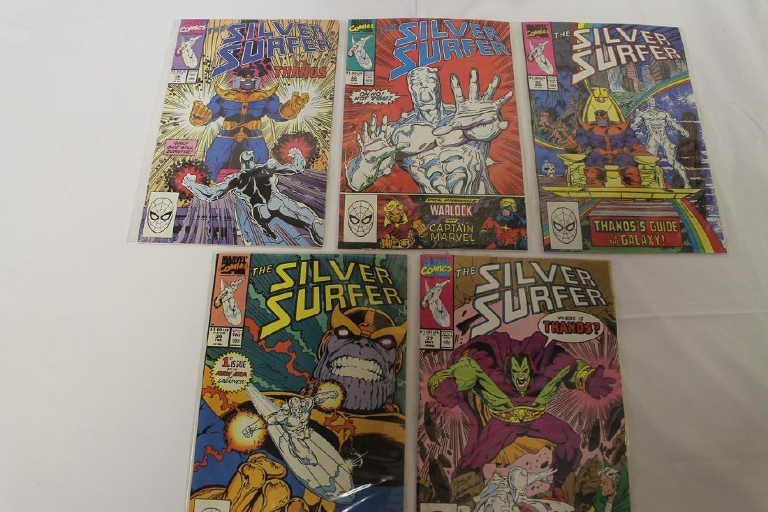 Silver Surfer comic book lot - 5