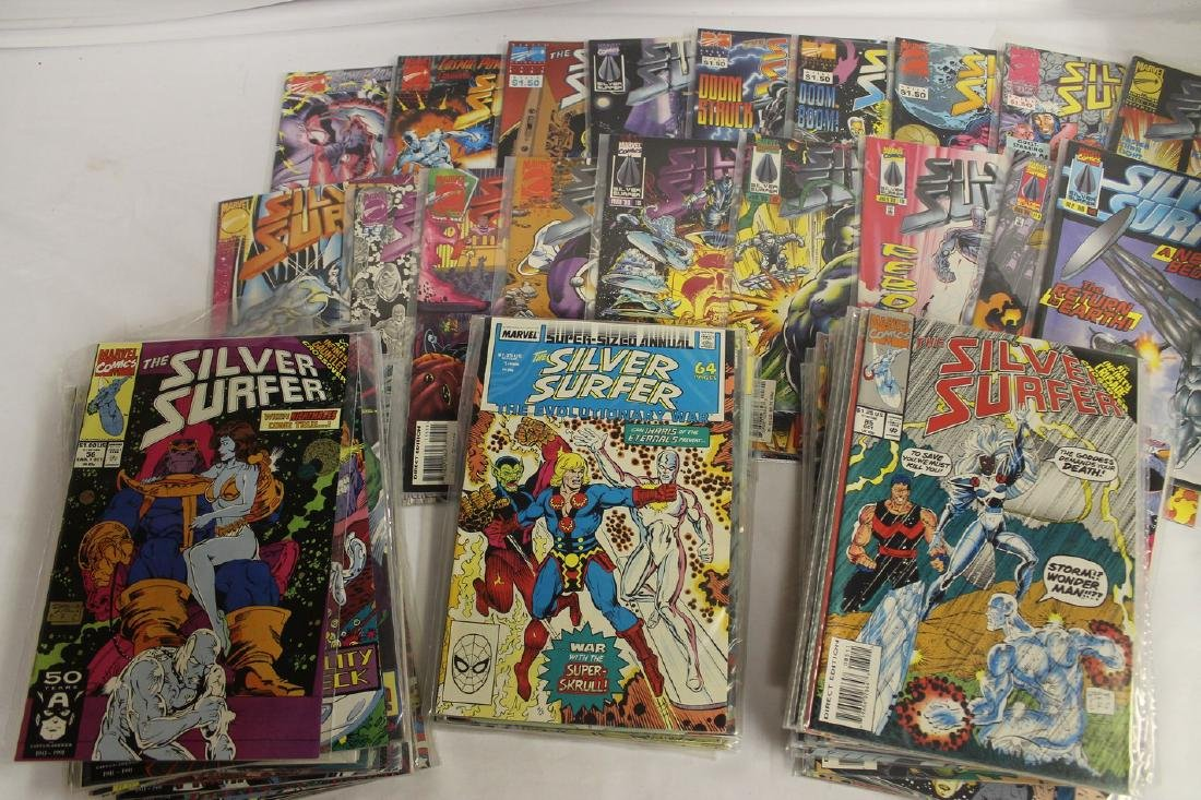 Silver Surfer comic book lot - 2