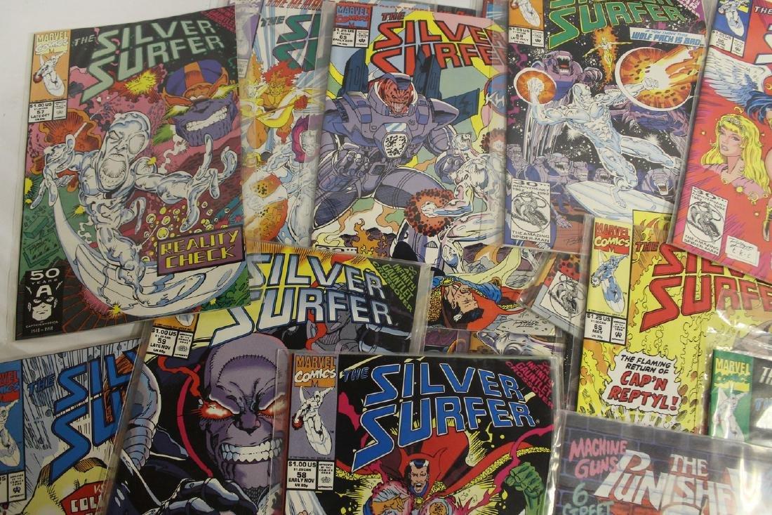 Silver Surfer comic book lot - 3
