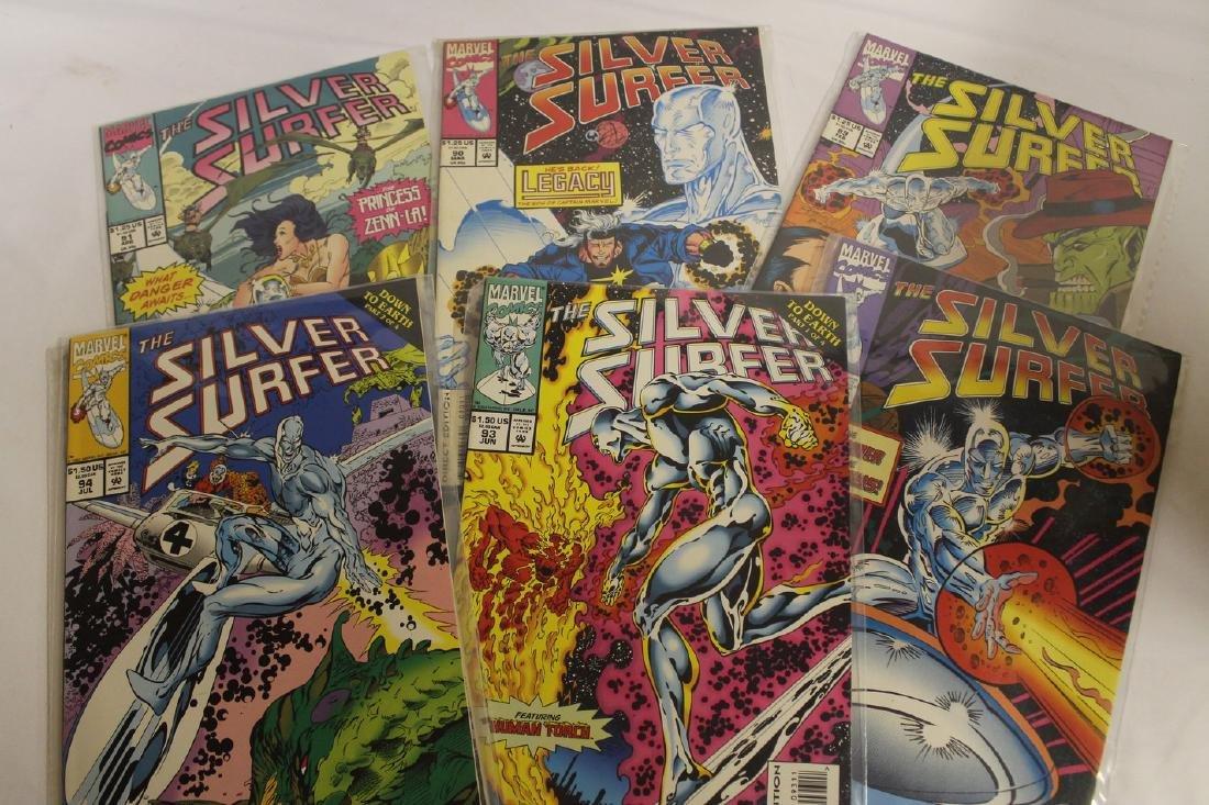 Silver Surfer comic book lot - 6