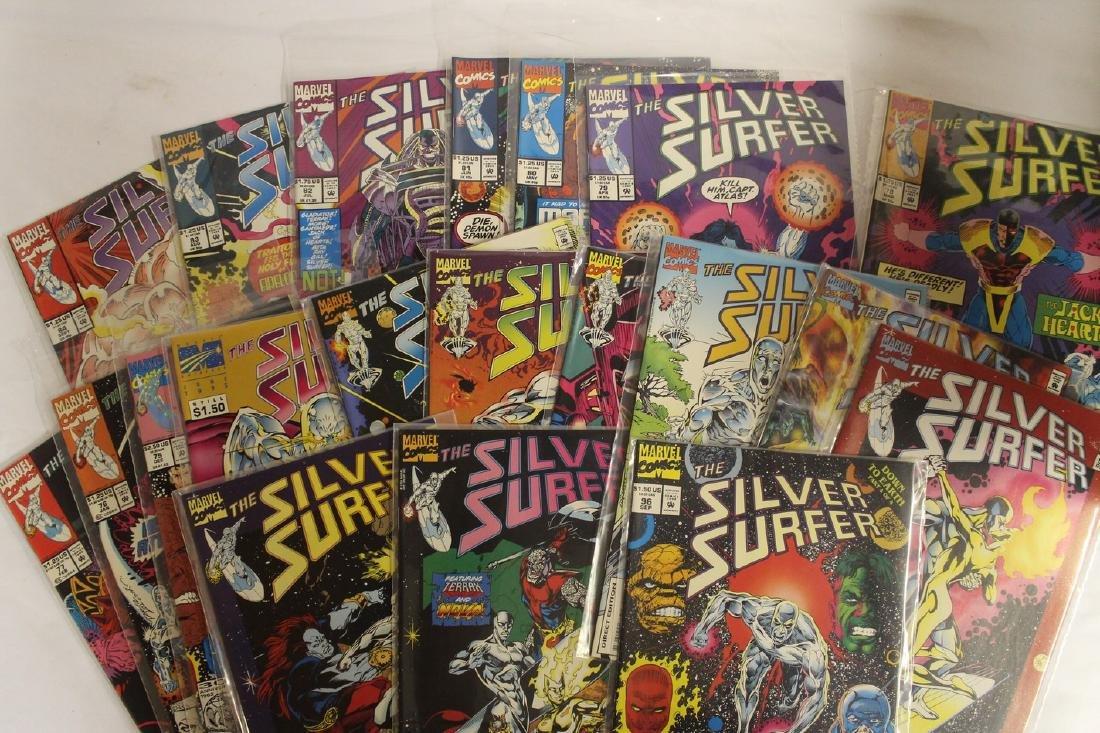 Silver Surfer comic book lot - 7