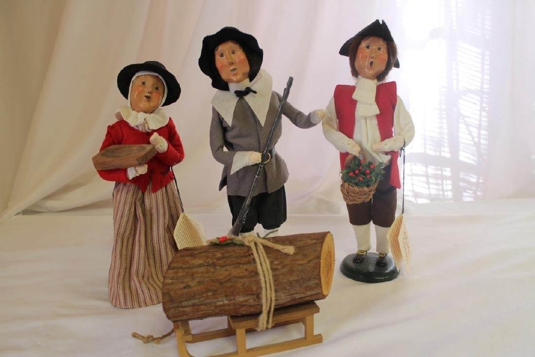 Lot of 4 Byers Choice figures - 2