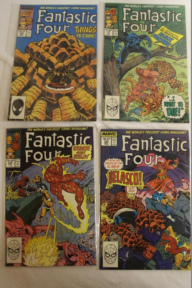Fantastic Four comic book lot - 10