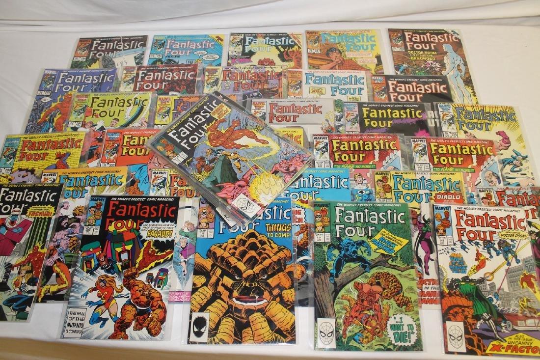 Fantastic Four comic book lot