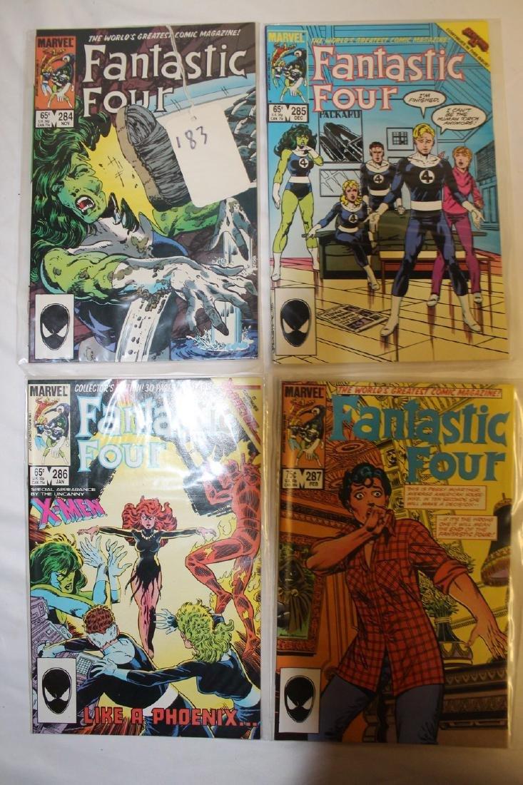 Fantastic Four comic book lot - 2